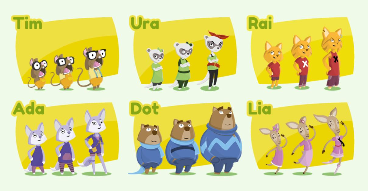 Personatges del Bosc de Lem
