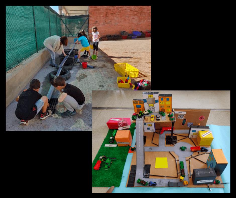 L'aprenentatge basat en projectes: maquetes, experimentació