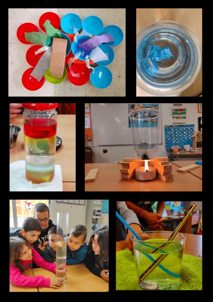 El treball per projectes: ciències, experimentació, experiments