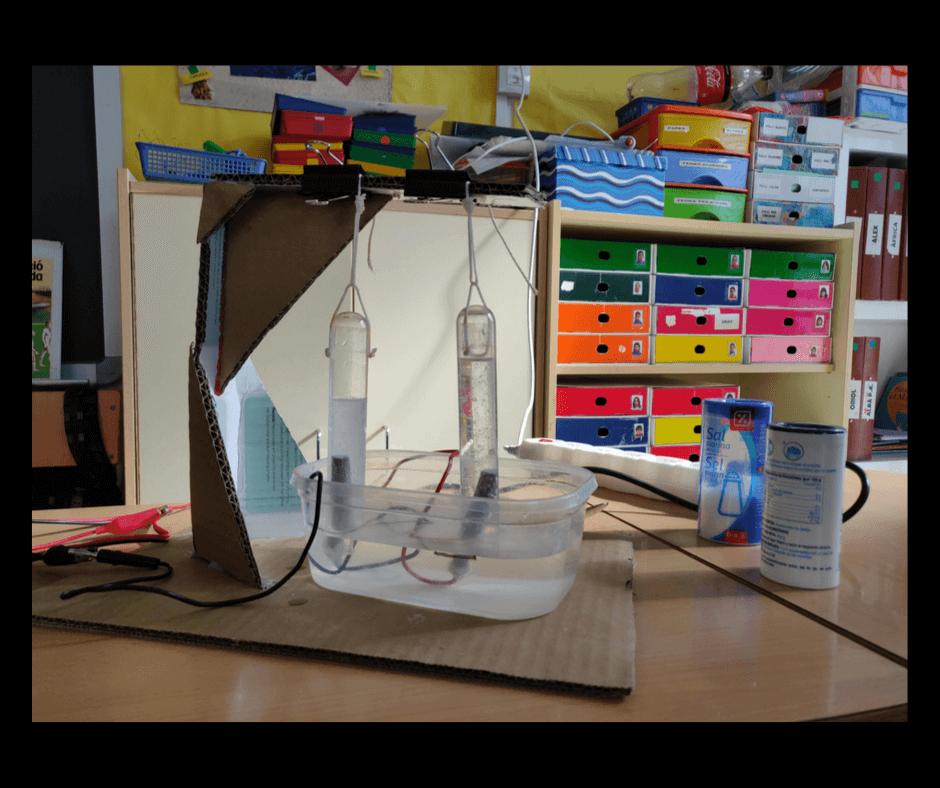 L'aprenentatge basat en projectes: experiment, experimentació, ciències, química