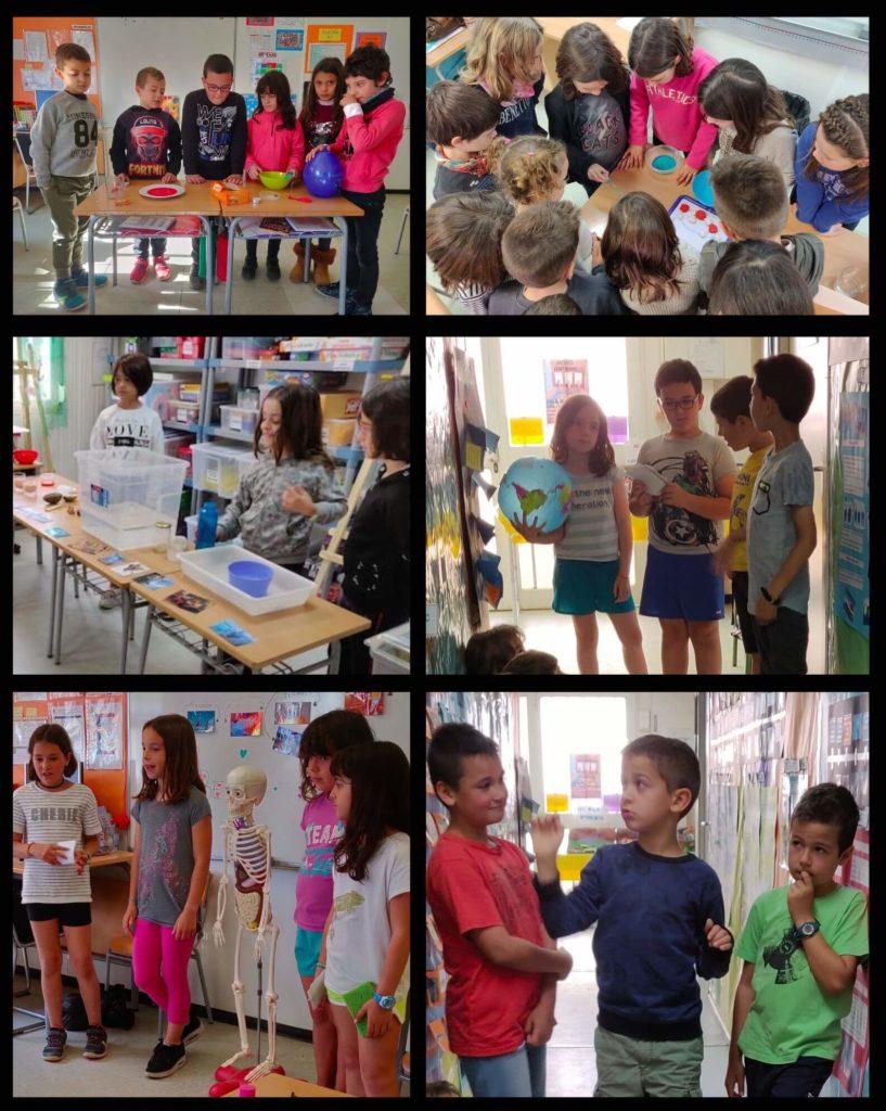 L'aprenentatge basat en projectes: compartir amb les famílies