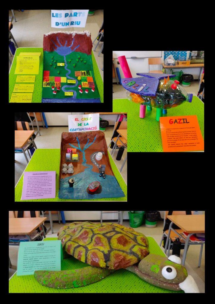 L'aprenentatge basat en projectes: maquetes, contaminació