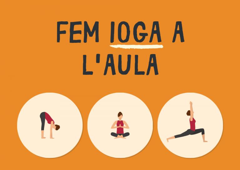 Fem ioga a l'aula