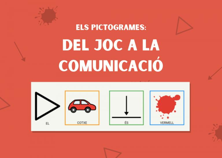 Els pictogrames: del joc a la comunicació